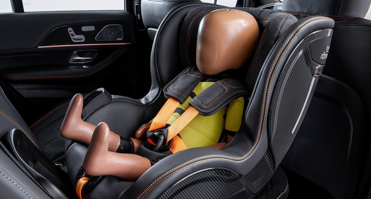 Merc baby seat concept